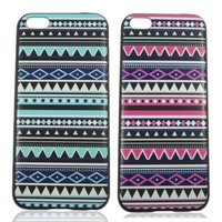 SaveGood 2 pcs Aztec Tribal Pattern Snap On Case Cover for Apple iPhone 5C