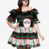 Leg Avenue - Sugar Skull Costume Dress