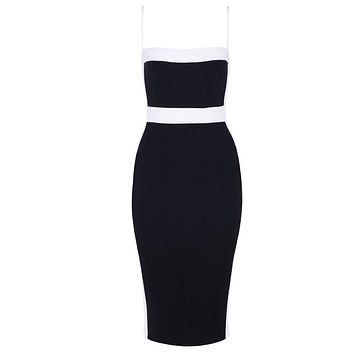 Seamyla Sexy Bandage Dresses Women 2019 New Sleeveless Celebrity Party Dress