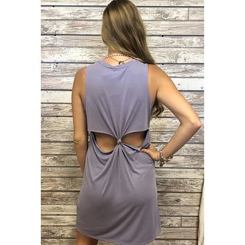Easy Breezy Dress- Lavender