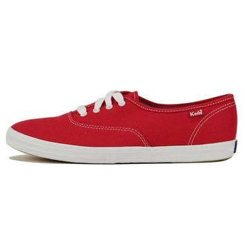 LMFH3W Keds for Women: Champion Red Sneakers