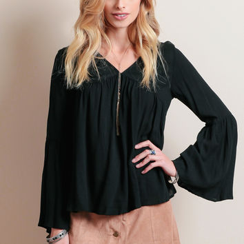 Lyon Bell Sleeve Top