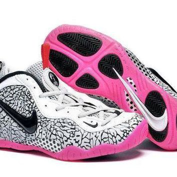 PEAPVX Jacklish Girls Nike Air Foamposite Pro Elephant Print For Sale