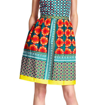 Print Fit & Flare Sundress - Adrianna Papell