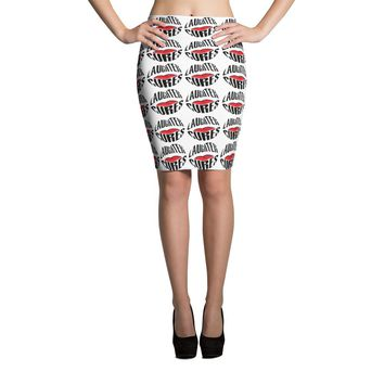 Cute Laughter Cures Pencil Skirt