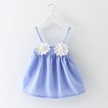 Princess Beach suspender dress