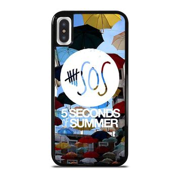 5 SECONDS OF SUMMER 4 5SOS iPhone X Case Cover