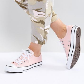Converse Chuck Taylor All Star low sneakers in pink at asos.com