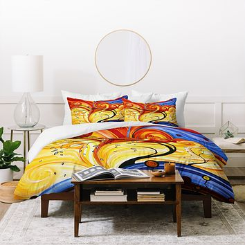 Madart Inc. Whirlwind Duvet Cover
