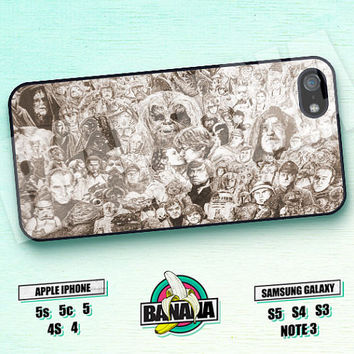 Star Wars, Dark Vader, Han Solo, iPhone 5 case, iPhone 5S case, iPhone 5c case, Phone case, iPhone 4 Case, iPhone 4S Case, Phone Skin, STW20