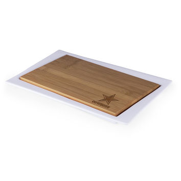 Dallas Cowboys - Enigma Cutting Board & Serving Tray (Bamboo)