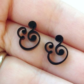 Epershand Ampersand Stud Earrings