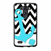 Chevron Anchor Personalized LG G3 Case