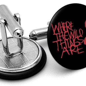 Where Wild Things Are Cufflinks