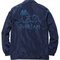 Supreme: Schminx Coaches Jacket - Navy