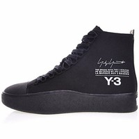 "2018 Y-3 Bashyo Trainer Boots ""Triple Black""AC7517"