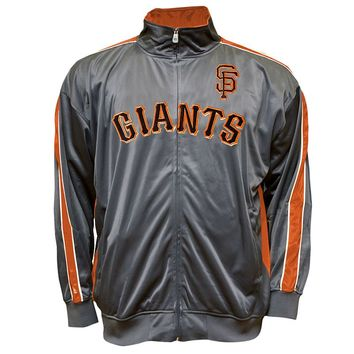 San Francisco Giants Tricot Track Jacket - Big & Tall, Size: