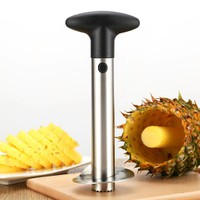 Fruit Cutter High Quality Stainless Steel Fruit Cutter Pineapple Corer Slicers Peeler Parer Cutter Kitchen Tool Pinapple Cutter