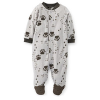 Microfleece Snap-Up Sleep & Play