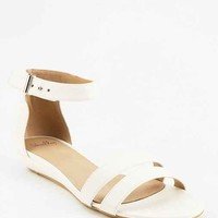 Shellys Of London Double-Strap Wedge Sandal-