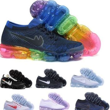 Latest Vapormax Plyknit Running Shoes Women Men Green Trainers Tennis Vapor Maxes 2018