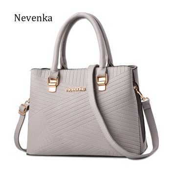 Nevenka Women Bag Crossbody Bag Female Briefcase OL Shoulder Strap Bags Ladies Solid Color Tote Messenger Bags Purse Sac