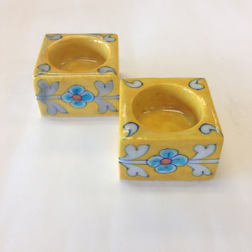Ceramic Candle Holders From Khurja