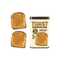 TOAST Sterile BANDAGES novelty gift gag first-aid kitchen travel