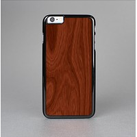 The Red Mahogany Wood Skin-Sert for the Apple iPhone 6 Skin-Sert Case