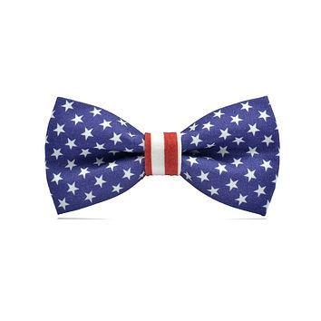 American Flag Ready-to-wear Bow Tie