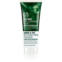 The Body Shop Tea Tree Cool & Creamy Face Wash Ulta.com - Cosmetics, Fragrance, Salon and Beauty Gifts