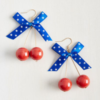 At This Cherry Moment Earrings