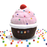 Dylan's Candy Bar Cupcake Pillow