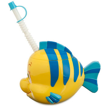 Disney The Little Mermaid Flounder Cup with Straw | Disney Store