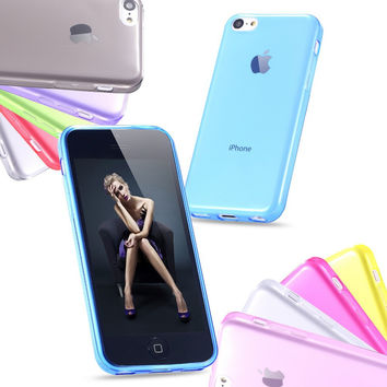 4s Super Soft Transparent Case Accessories For Apple iPhone4 Ultra Slim TPU Silicone Gel Cell Phone Back Cover For iPhone 4