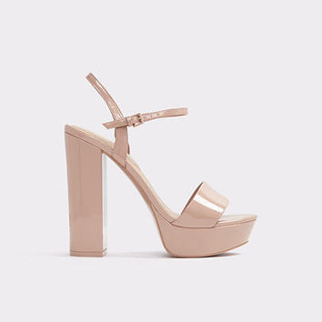 Kandie Light Pink Women's Platform sandals | ALDO US