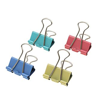 Affordable 60 Assorted Office File Organize Mini Metal Binder Clips Binder Binding 15mm