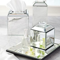 Mirrored Bath Accessories