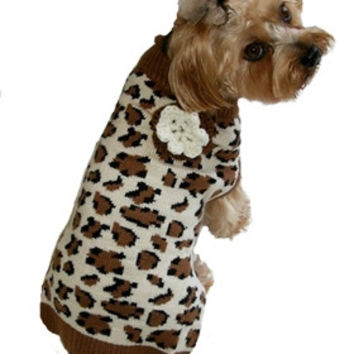 Loving' Leopard Dog Sweater