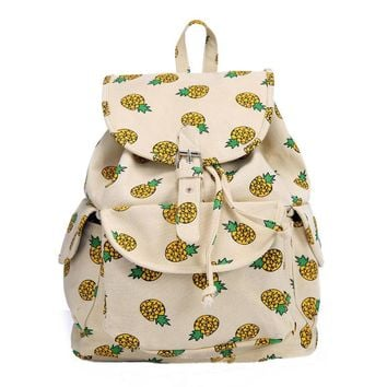 Pineapple Backpacks Bookbags