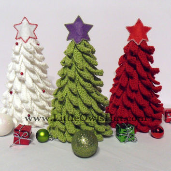 001 Christmas Tree. New Year pattern. Amigurumi Crochet Pattern. Christmas pattern. Home Decoration by Sharapova Etsy