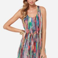 Jack by BB Dakota Kenza Multi Print Dress