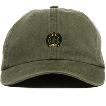 Crest Polo Hat Emerald