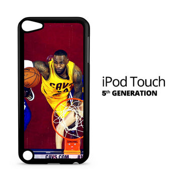 Lebron James Nba Basketball Rebound iPod Touch 5 Case