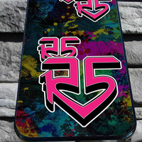 R5 band Cover for iPhone 4/4s, iPhone 5/5S/5C/6, Samsung S3/S4/S5 Unique Case *76*