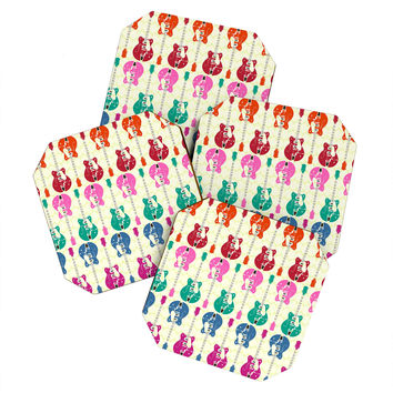 Sharon Turner Candy Rock Coaster Set