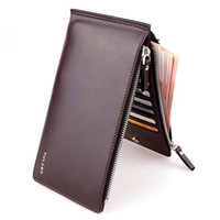 2015 High Quality new fashion Men Wallet PU leather Ultra-thin Coin Purse Men handbags business card holder for men