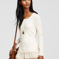 Two-in-One Sweater | Ann Taylor