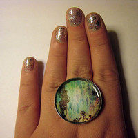 Henna Painting-Pendant Or Ring