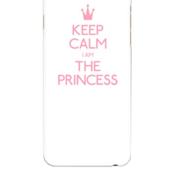 keep calm i'm the princess - iphone 6 Plus Case